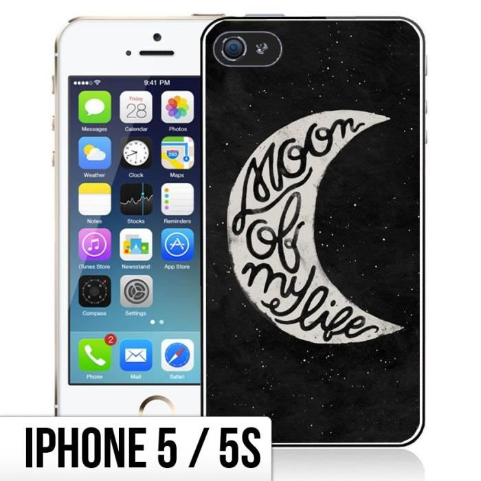 coque iphone 5 moon
