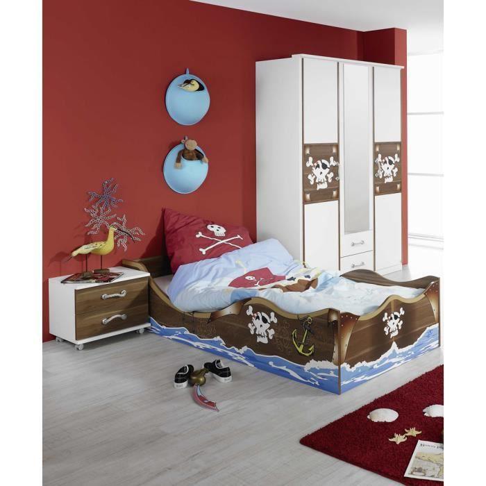 chambre enfant compl te pirate achat vente chambre. Black Bedroom Furniture Sets. Home Design Ideas