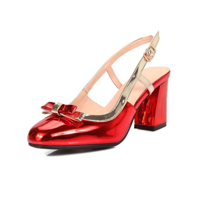 Nouveau Sandales à talons Femme Chaussure-Sling...