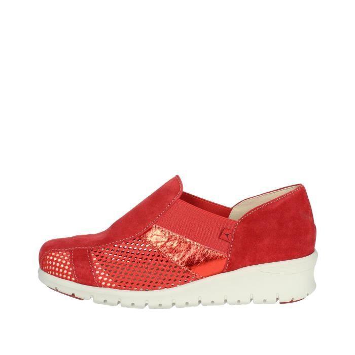 Cinzia Soft Petite Sneakers Femme Rouge, 35