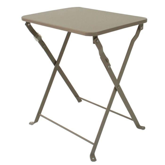 Petite table jardin pliante - Achat / Vente pas cher
