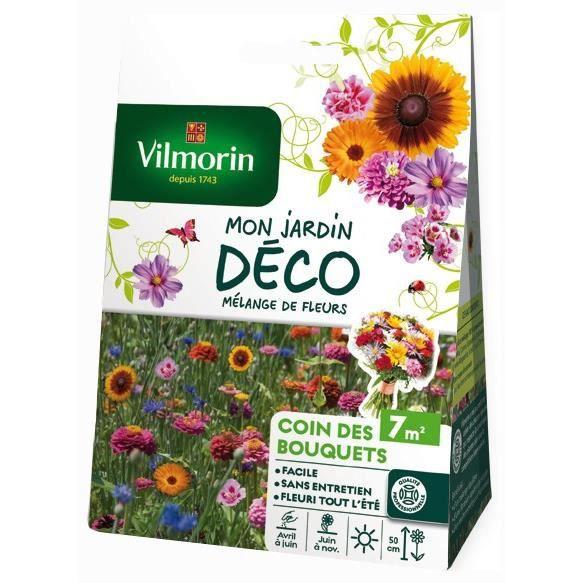 Vilmorin Melange Graines De Fleurs Coin Des Bouquets 7 M Achat