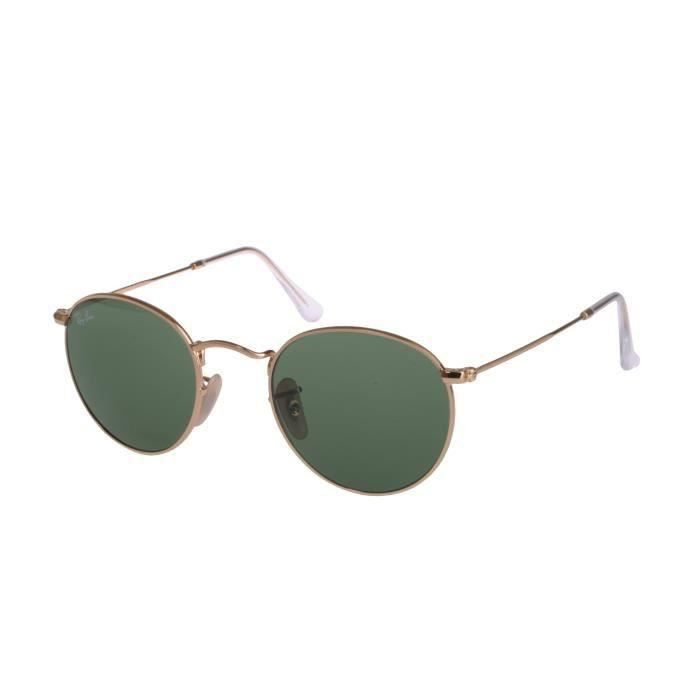 Virtual Products RAYBAN RB 3447 ROUND METAL 001... Or, Métal - Achat ... efaa31d7609d