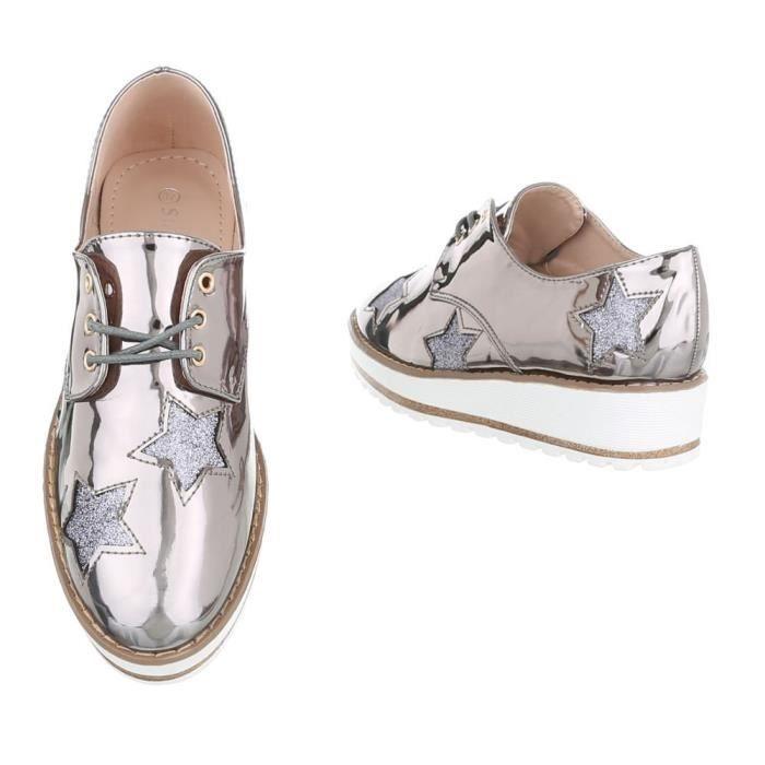 Lacets Brillantes Trendtwo Femmes Plates À Chaussures 3c2sna 41 Pour Taille I4xqCx6w