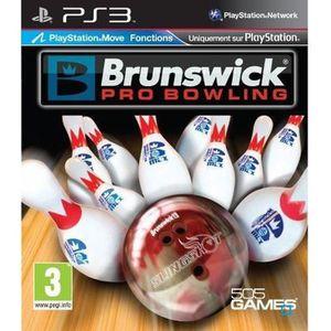 JEU PS3 BRUNSWICK PRO BOWLING MOVE / Jeu console PS3