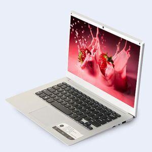 ORDINATEUR PORTABLE Ultra-mince ordinateur portable Quad-Core 14 '' Af