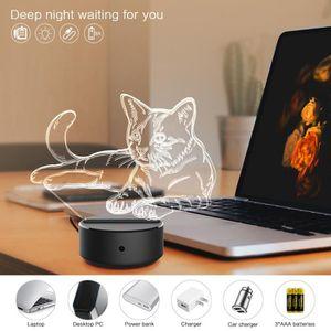 LAMPE A POSER ouniondo® Robot 3D Night Light Table lampe de bure