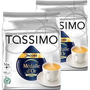 CAFÉ CD-148Tassimo Jacobs Medaille d'Or, le café, capsu