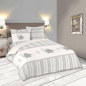 PARURE DE DRAP Parure de lit SERAPHIN 220 x 240 cm