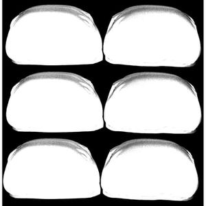 APPUI-TÊTE Aerzetix: Lot de 6 housses d'appui-tête universell