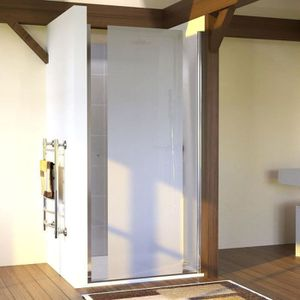 porte douche pivotante achat vente pas cher. Black Bedroom Furniture Sets. Home Design Ideas