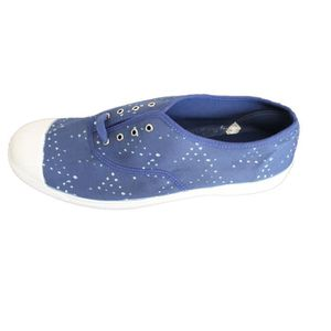 f3b44aced3284f SLIP-ON Bensimon Tennis Lacets Indigoprint, Baskets Homme