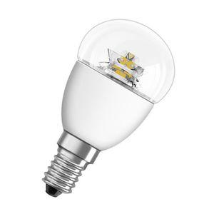 AMPOULE - LED OSRAM Ampoule Led E14 sphérique claire blanc chaud