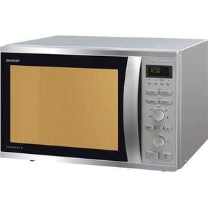 MICRO-ONDES Sharp - micro-ondes + gril 40l 1050w inox - r941st