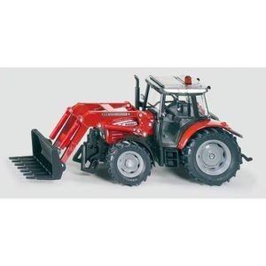 VOITURE - CAMION Siku - Tracteur Massey Ferguson + Chargeur Frontal