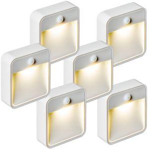 DÉTECTEUR DE MOUVEMENT Lampe LED, Lampe murale, Lampe Présence, Veilleuse