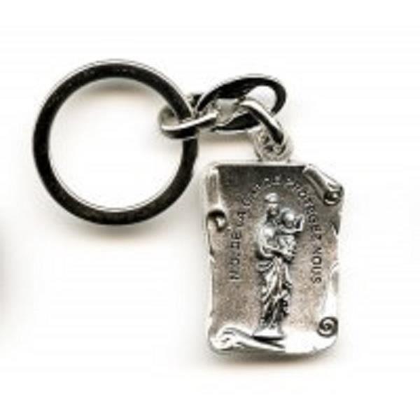 Garde Dame La Metal Porte Argente De Cles Notre qHR8x