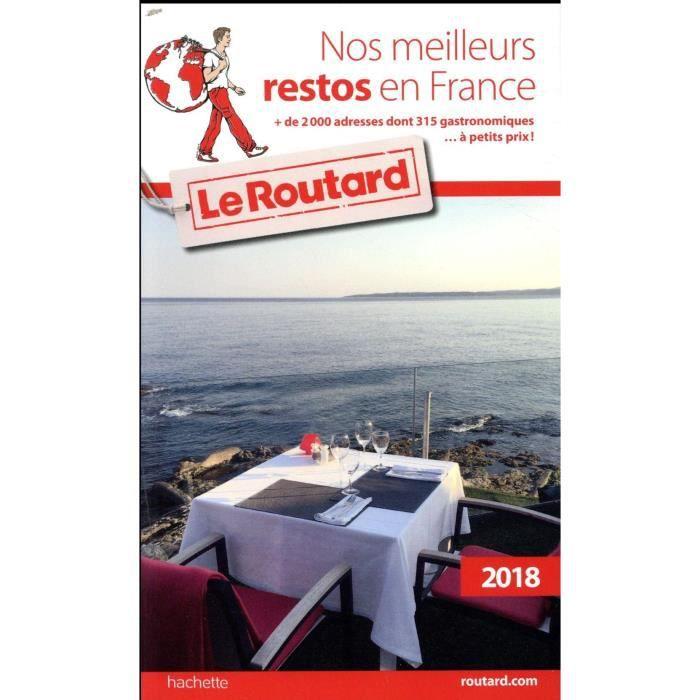 f0a539ed5cf Livre - guide du Routard   nos meilleurs restos en France (édition 2018)
