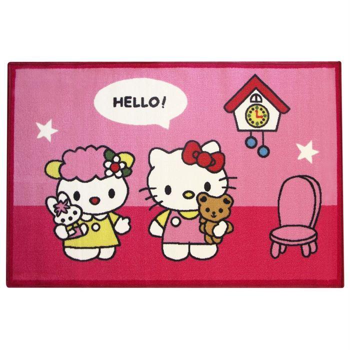 Grand Tapis Hello Kitty Prix Pas Cher Cdiscount