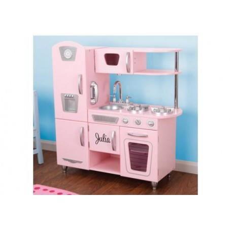 Cuisine Vintage Rose Kidkraft Personnalisable 3662737068653