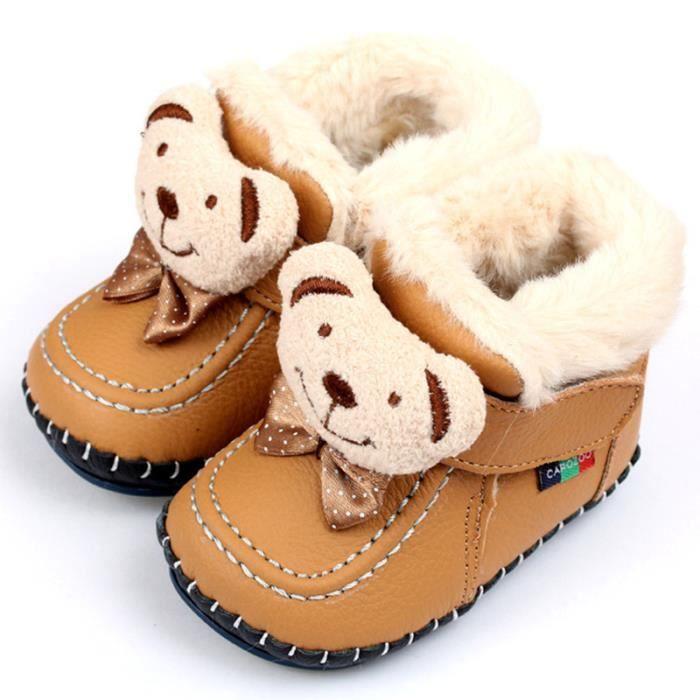 Martin Boots Enfants Hiver Garçons Fille Casual Chaussures JXG-XZ101Noir34 M8c1Dd8