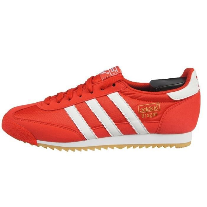 Chaussures Adidas Dragon OG Rouge Rouge Achat Vente