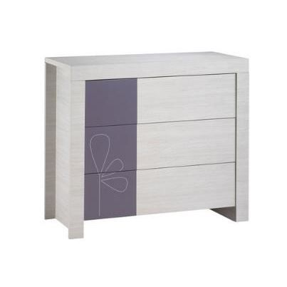 Commode 3 Tiroirs Opale Figue Fy161 Sauthon Easy Achat Vente