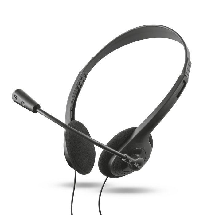 Trust Primo Chat Headset Casque Sur-oreille Jack 3,5mm