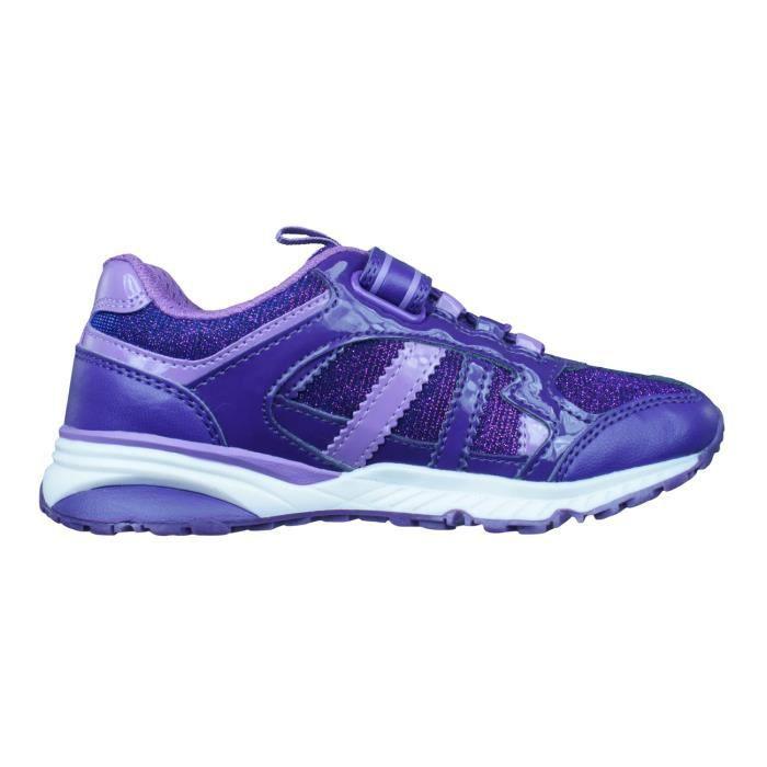 Geox J Bernie G.D Filles Sneakers Violet 9K