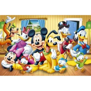 Poster mickey achat vente pas cher - Mickey mouse et ses amis ...