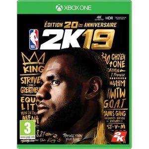 JEU XBOX ONE NOUVEAUTÉ NBA 2K19 Édition 20ème anniversaire Jeu Xbox One