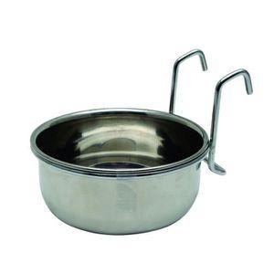 MANGEOIRE - TRÉMIE Mangeoire en métal pour lapin 600 mL