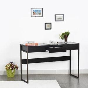 console meuble pour ordinateur achat vente pas cher. Black Bedroom Furniture Sets. Home Design Ideas
