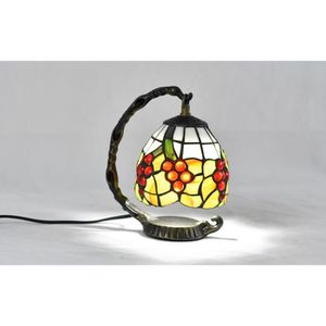 LAMPE A POSER baroque européenne Tiffany Table Lamp Chambre Lamp