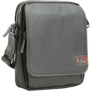 BESACE - SAC REPORTER Besace bandouliere homme Cuir - Chocolat