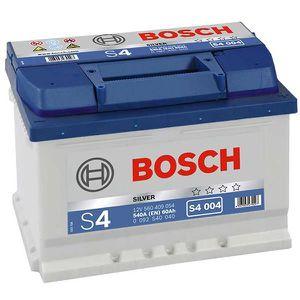 BATTERIE VÉHICULE Batterie BOSCH Bosch S4004 60Ah 540A - 36641109766
