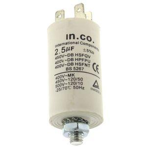 PIÈCE LAVAGE-SÉCHAGE  Condensateur 2,5µf pour Lave-vaisselle Bosch, Lav