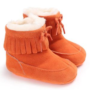 CHAUSSON - PANTOUFLE Bottes de neige de bébé Soft Sole Bottes de bercea