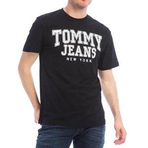 52734165d6aee T-SHIRT TJM Essential Homme Tee Shirt Noir Tommy Hilfiger