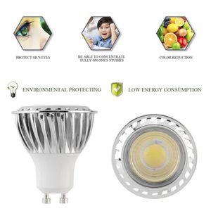 AMPOULE - LED 4Pcs Ampoules Spots Led Gu10 6W Cob 200-240V Ac 60