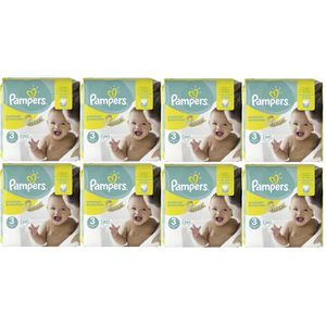 COUCHE Pampers Premium Protection Taille 3 Midi 5-9kg 232