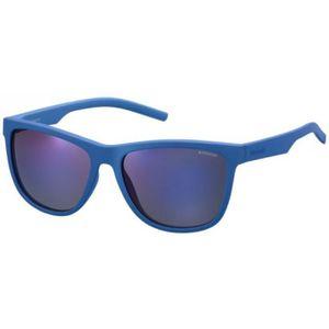 LUNETTES DE SOLEIL Lunettes de soleil mixte POLAROID Bleu PLD 6014 S 2d54566873d3