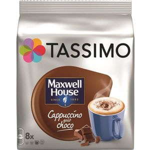 CAFÉ - CHICORÉE Tassimo Dosettes Café Maxwell House Cappuccino Cho