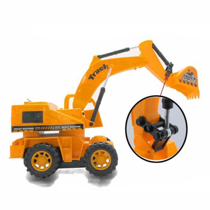 1 Voiture Camion 16 1234 Jouet Excavatrice Télécommande Dyy60927861 Câble hQdtsr
