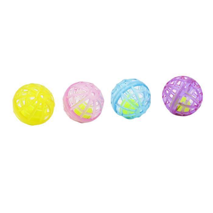 Aime Lot De 4 Balles Grelot - Pour Chat