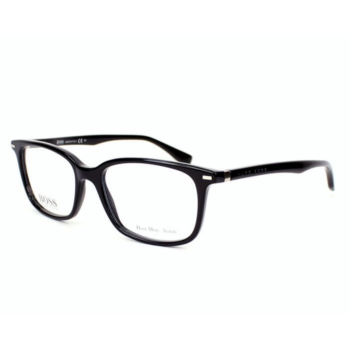 145522b6fa Lunettes de vue Hugo Boss BOSS 0712 -807 Noir Noir - Achat / Vente ...