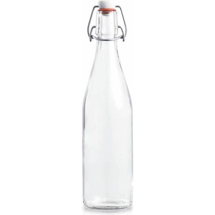 bouteille en verre achat vente bouteille en verre pas cher cdiscount. Black Bedroom Furniture Sets. Home Design Ideas