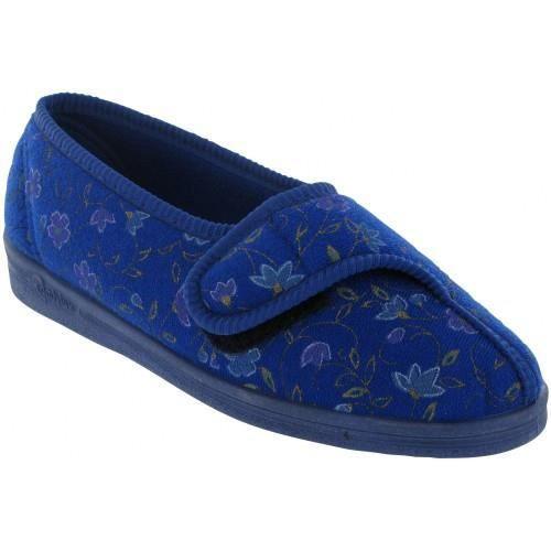 Pantoufles Comfylux Diana pour femme Bleu u8Yp5VSE