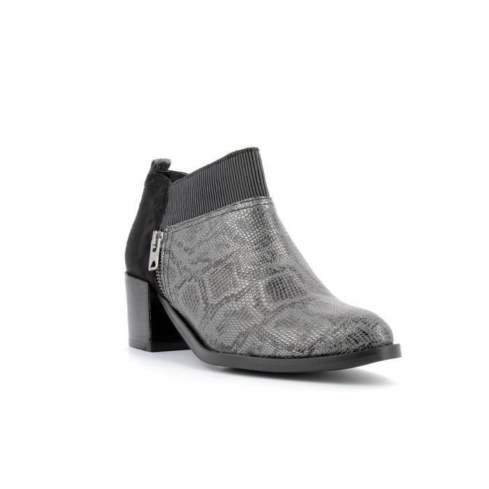 Boots en cuir femmes REGARD - RADAXO