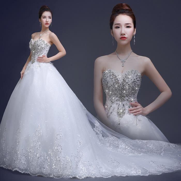Nouveau model robe de mariage